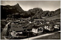 Karlstein bei Bad Reichenhall Postkarte 1956 gelaufen Gesamtansicht Berge Häuser