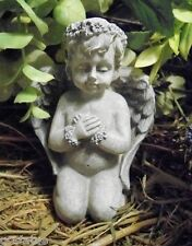 """Latex small angel mold plaster concrete mould 4""""H"""