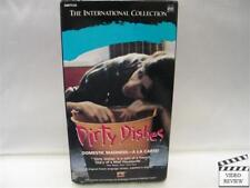 Dirty Dishes (VHS, 1987) Carole Laure Subtitled RARE