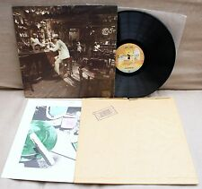 LED ZEPPELIN - In Through Out The Door LP +Bag & Inner German Swan Song SS 59410