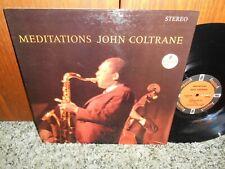 John Coltrane Meditations Impulse! STEREO A-9110 RVG NICE COPY JAZZ LP