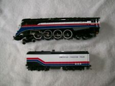 BACHMANN HO 4-8-4 Freedom Train for parts or repair 6 axle tender DCC on Board?