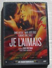 DVD JE L'AIMAIS - Daniel AUTEUIL / Marie Josée CROZE - Zabou BREITMAN - NEUF