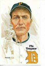 Pie Traynor Perez-Steele Hall of Fame Art Postcard Pittsburgh Pirates #55