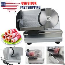 "Commercial Restaurant Electric Food Meat Slicer Deli Cheese Cutter 7.5"" Blade"