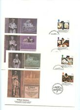 Great Britain FDC 1988  Welsh Bible Religion 4 Values Fleetwood Cover 21-2
