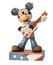Enesco Jim Shore Disney Traditions Americana Mickey Mouse Nib 6000968