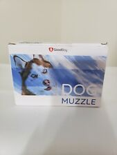 Good Boy Blue Cushioned Dog Muzzle Size Large