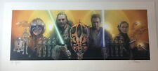 DREW STRUZAN SIGNED ARTIST PROOF GICLEE PRINT STAR WARS PHANTOM MENACE