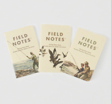 Field Notes Abercrombie & Fitch Heritage Prints Paper Notebooks Brand New Sealed