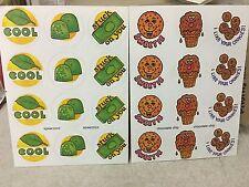 1 VINTAGE 80's paper art spearmint & Chocolate 🍫 Sniff sticker pack $1.50 ship