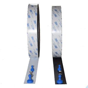 Eisenband Ferroband mit 3M Kleberücken selbstklebend Magnetband Board Stahlband