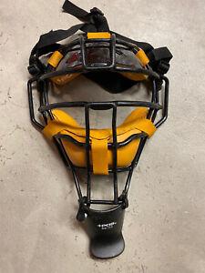 Vintage Plus +POS Umpire Mask BB102 Ultra Light Weight Black Original