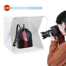 20/30/40CM PHOTO STUDIO BOX PHOTOGRAPHY TENT LIGHTING KIT PANEL LED BACKDROPS 9