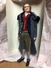 Thomas Jefferson Living Image Doll   Us Historical Society   12�   Original Box