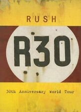 Rush - R30 - 30th Anniversary Deluxe Edition DVD, Rush, Geddy Lee, Alex Lifeson,