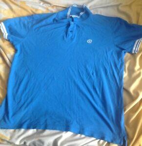 Mens blue Henri Lloyd polo shirt size XXL