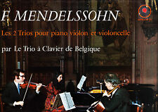 ALPHA DB 221 - MENDELSSOHN 2 PIANO TRIOS - TRIO DE CLAVIER DE BELGIQUE STEREO NM