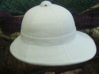 ARMY WOLSELEY REPRO AFRICAN COLONIAL EXPLORER TROPICAL SAFARI PITH HAT HELMET