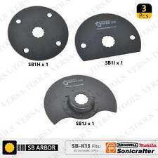 SB-K13 3 PC Oscillating Saw Blade Set for Sonicrafter (SB1H,1I,1J) 1 each