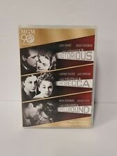 Alfred Hitchcock's Notorious, Rebecca & Spellbound - Triple Feature Dvd Mgm 90th