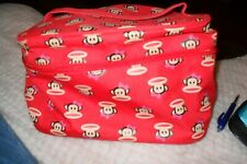 Red Monkey Pattern Toiletry Bag Paul Frank