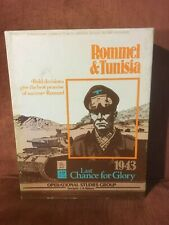 Rommel & Tunisia: Last Chance for Glory - Boardgame Complete OSG 1978