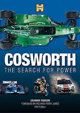 COSWORTH - THE SEARCH FOR POWER GRAHAM ROBSON RARE 5TH EDITION MOTORSPORT