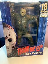 NECA Friday the 13th Jason Voorhees 18 inch Figure Motion Activated Sound
