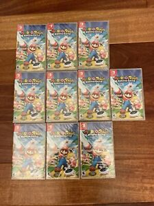 Mario + Rabbids Kingdom Battle (Nintendo Switch) Brand New Sealed (Lot Of 10)