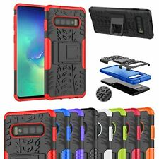 Case Heavy Duty Armour Shock Proof Stand Cover For Samsung Galaxy S10 S8 A5 J3