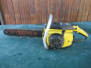 "Vintage McCULLOCH MAC 10-10 AUTOMATIC  Chainsaw Chain Saw with 16"" Bar"