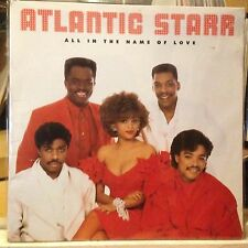 [SOUL/FUNK/JAZZ]~EXC LP~ATLANTIC STARR~All In The Name Of Love~[1987 WARNER BROS