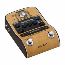 ZOOM AC-2 Acoustic Creator Acoustic guitar preamp Reproduce the lost body sound