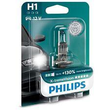 H1 Philips X-tremeVision 55W 12V Lampadine Fari Alogeni 12258XV+B1 Single