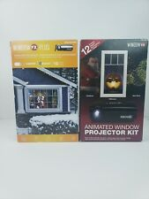 Window FX Animated Window Projector Kit Bundle Of 2 Christmas Halloween