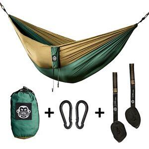 Monkey Swing Reise Hängematte +Aufhängeset I ultraleicht I 270x140CM I bis 180kg