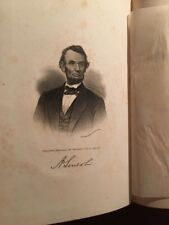 1866 Life Of Abraham Lincoln; Civil War; Holland