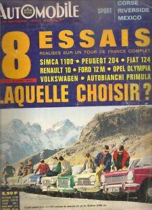 L'AUTOMOBILE 260 1967 CANAM TOUR DE CORSE COX 1300 FORD 12M 204 OLYMPIA PRIMULA