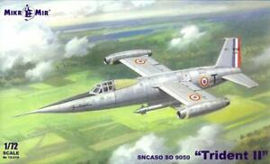 MikroMir Models 1/72 SNCASO SO 9050 TRIDENT II French Research Jet