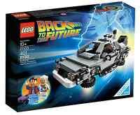 LEGO® 21103 DeLorean Zeitmaschine Neu OVP_The DeLorean time machine NEW MISB