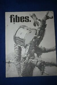 RARE Vintage 1971 Fibes Drum Kit Catalogue with signed Letter from John Morena