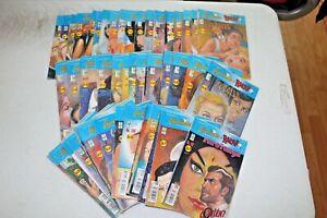 LAGRIMAS Y RISAS Rarotonga/ El Canalla LOT 55 COMIC BOOKS MEXICO Romance