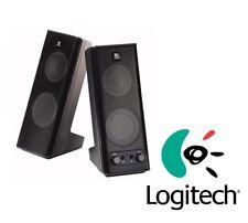 Logitech x140 Stereo Multimedia Computer Speakers Pair