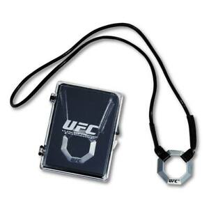 UFC Officially Licensed Pewter Octagon Pendant Necklace New In Case RARE