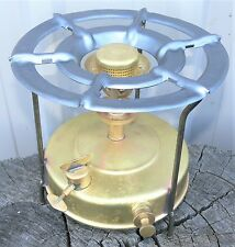 Nice Handi 'Quick Boil' kerosene primus stove, clean with new seals & instr.