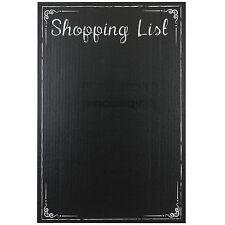 Shopping List Self Adhesive Chalk Memo Chalkboard Wall Sticker Black Board