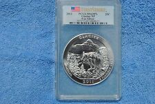 2011 America The Beautiful Glacier NP ATB, FIRST STRIKE, PCGS, MS69PL