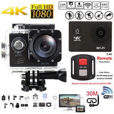 4K Ultra SJ8000R Wifi Sport Action Camera 2.0inch DV 1080P HD Cam DVR Waterproof