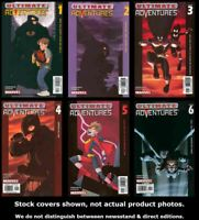 Ultimate Adventures 1 2 3 4 5 6 Marvel 2002 Complete Set Run Lot 1-6 VF